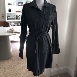 Gap Cotton Shirt Dress